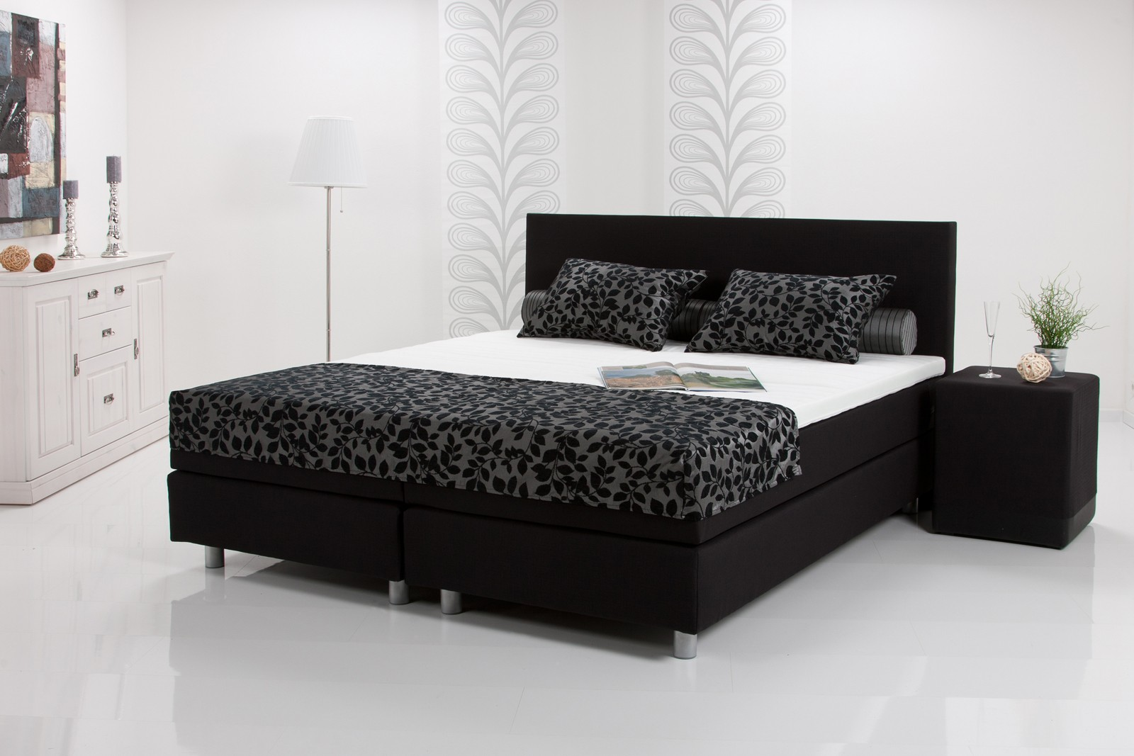 boxspringbett zubeh r. Black Bedroom Furniture Sets. Home Design Ideas